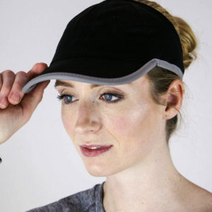 Black Sport Mesh hat, view 2