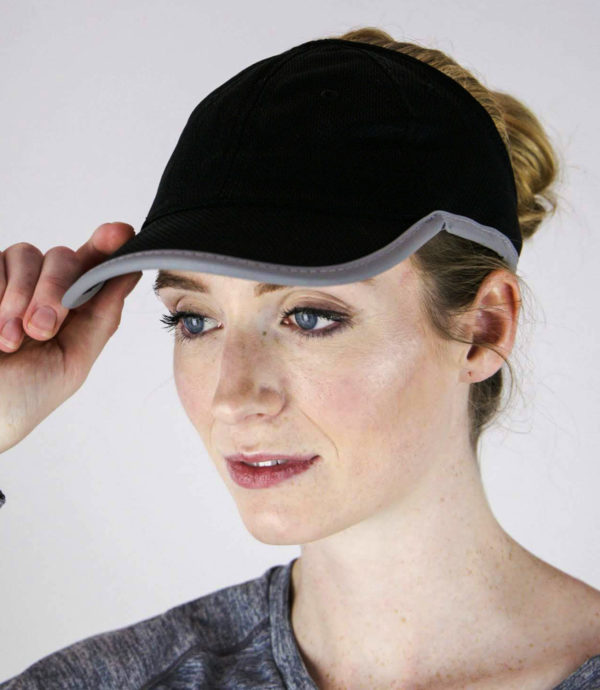 Black Sport Mesh hat, view 2