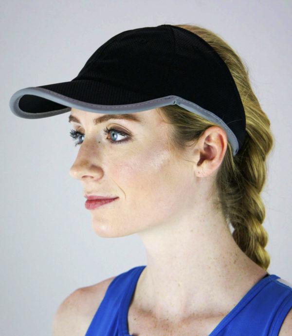black Sport Mesh hat